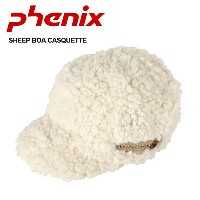 PHENIX フェニックス 帽子 SHEEP BOA CASQUETTE PH268HW73 OW【帽子】