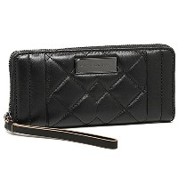 (マークバイマークジェイコブス) MARC BY MARC JACOBS 財布 M0006157 001 MOTO QUILTED SLIM ZIP AROUND 長財布 BLACK[並行輸入品]
