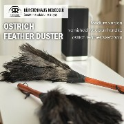 REDECKER レデッカー OSTRICH FEATHER DUSTER/オーストリッチ羽はたき 50cm天然木/ほうき/掃除/ハケ/ダチョウ【コンビニ受取対応商品】【RCP】