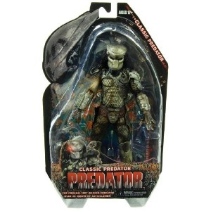 NECA Predators 2010 クラシック プレデター フィギュア Movie Series 3 Action Figure Classic Predator Masked