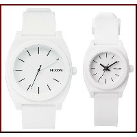 NIXON【ニクソン】TIME TELLER P/SMALL TIME TELLER P ペアウォッチ 腕時計 ホワイト【送料無料】A119-1030/A425-100(国内正規品)