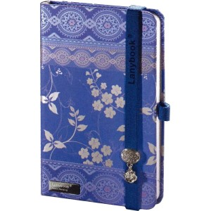 New!Lany book【Oriental Dream】イタリアから新しいノートの風。A6(90×140mm)192ページ横罫【Made in italy】