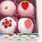 The Baby Bunch 4cupcakes ロンパース