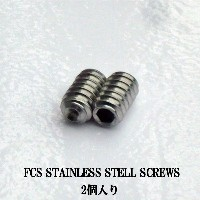 FCS フィン スクリューネジ STAINLESS STELL SCREWS /2個入り