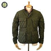 [cpa][c:0][b:9][s:5.87]Ralph Lauren ラルフ・ローレン Quilted Bike Jacket キルト バイクジャケット Campbell Olive