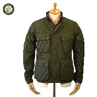 POLO RALPH LAUREN ポロ ラルフ・ローレン QUILTED BIKE JACKET メンズ キルト バイクジャケット CAMPBELL OLIVE