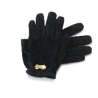 【CUT RATE】(カットレイト) LEATHER GLOVE (BLK)