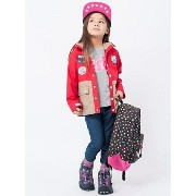 【SALE/40%OFF】X-girl Stages MOUNTAIN PARKA 4T エックスガールステージス コート/ジャケット【RBA_S】【RBA_E】【送料無...
