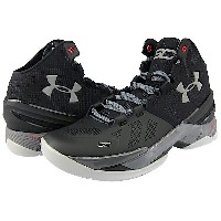 Under Armour Curry 2 'THE PROFESSIONAL' メンズ Black/Graphite/Metallic Silver アンダーアーマー バッシュ ステフィンカリー