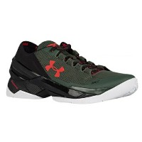 """Under Armour Curry 2 Low """"HOOK""""メンズ Combat Green/Black/Red アンダーアーマー カリー2 バッシュ ステフィン・カリー"""