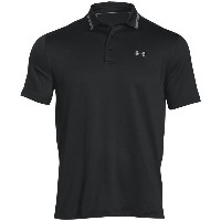 アンダーアーマー メンズ ゴルフ ウェア【Under Armour coldblack Address Golf Polo】Black/Steel