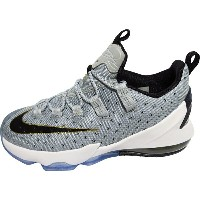 NIKE LEBRON XIII LOW GS ナイキ レブロン13 ロー GS(COOL GREY/MTLLC GOLD/WHITE/BLACK)【834347-001】【R】返品・交換不可