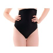 MAGIC BODYFASHION ハイウエスト下着 High Waist Thong 1371 black L