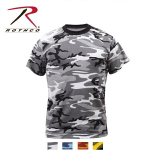 Rothco Colored Camo T-Shirts(ロスコ カラーカモ Tシャツ)6797他(4色)