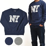 ONLY NY(オンリーニューヨーク) OUTFIELD FRENCH TERRY CREWNECK スウェット トレーナー フリース 【あす楽対応】【05P03Sep16】【RCP】