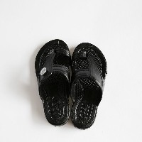 GLOCAL STANDARD PRODUCTS / G.S.P SANDALS KIDS(BK) 2(18cm)【グローカルスタンダードプロダクツ/ブラック/サンダル/ギョサン/PEARL...