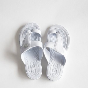 GLOCAL STANDARD PRODUCTS / G.S.P SANDALS KIDS(WH) 4(20cm)【グローカルスタンダードプロダクツ/ホワイト/サンダル/ギョサン/PEARL...