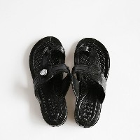 GLOCAL STANDARD PRODUCTS / G.S.P SANDALS KIDS(BK) 4(20cm)【グローカルスタンダードプロダクツ/ブラック/サンダル/ギョサン/PEARL...