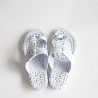 GLOCAL STANDARD PRODUCTS / G.S.P SANDALS KIDS(WH) 3(19cm)【グローカルスタンダードプロダクツ/ホワイト/サンダル/ギョサン/PEARL...