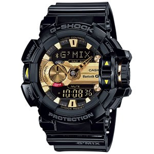 カシオ 腕時計 G-SHOCK G'MIX GBA-400-1A9JF BluetoothR SMART対応モデル【smtb-k】【ky】【KK9N0D18P】