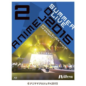 【送料無料】ソニーミュージック Animelo Summer Live 2015 -THE GATE- 8.29 【Blu-ray】 SSXX-33/4 [SSXX33]