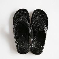 GLOCAL STANDARD PRODUCTS / G.S.P SANDALS (BK) M(24cm)【グローカルスタンダードプロダクツ/ブラック/サンダル/ギョサン/PEARL】[112153