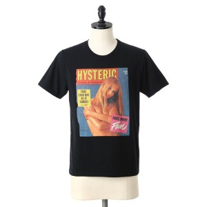 【SALE/セール】HYSTERIC GLAMOUR(ヒステリックグラマー) / COVER GIRL pt T-SH / 全2色 (Tシャツ カットソー 半袖) 261CT23【COR】