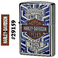 zippo(ジッポーライター)HARLEY-DAVIDSON #29159 High Polished Chrome