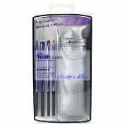 Real Techniques Limited Edition Eyelining Set - Plush Synthetic Bristles (並行輸入品)