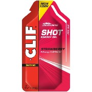 Clif Bar Clif Shot Strawberry + Caffeine 24 pckts ?????