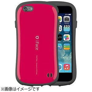 HAMEE iPhone6Plus用 iface First Classケース IP6IFACEFIRST55HPK (ホットピンク)