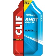 海外直送品 Clif Energy Gel Shot Vanilla -- 24 Packets