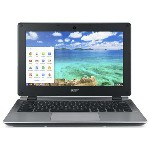 Acer ノートパソコン Chromebook C730E C730E-N14M [液晶サイズ:11.6インチ CPU:Celeron Dual-Core N2840(Bay Trail)/2.16GHz/2コア メ...