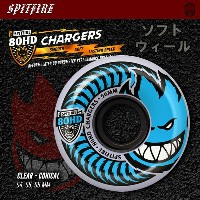 SPITFIRE ウィール 80HD CHARGERS CONICAL CLEAR 54mm/56mm/58mm 【スケートボード ソフト ウィール】【スピットファイア】【日本正規品】【あす楽...