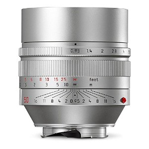 Leica 11667 Noctilux-M 50mm/f0.95 ASPH Normal レンズ, シルバー (海外取寄せ品)