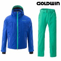 GOLDWIN ゴールドウィン 2015/2016 スキーウェア 基礎 DEMO Radical Jacket & Radical Pants (AB×BG):G11504P G31503P[pd装...