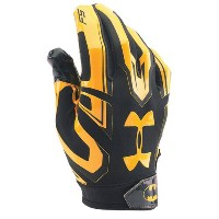 アンダーアーマー メンズ アメフト グローブ 手袋【Under Armour F5 Alter Ego Football Gloves】Black/Metallic Gold