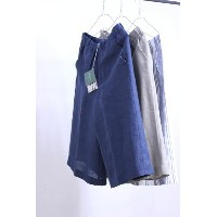 【SUMMER SALE】O'NEIL of DUBLIN(オニールオブダブリン) リネン100% 3/4 WIDE PANTS #789 3color【Lady's】