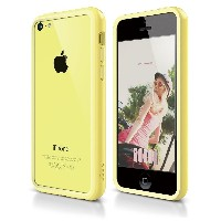iphone5C ケース アイフォン5C カバー iphone bumper アイフォン5c バンパーケース elago S5C Bumper Case for iPhone 5C (Yellow)