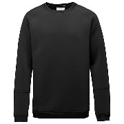 プーマ STAMPD RAGLAN CREW SWEAT メンズ black