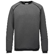 プーマ STAMPD RAGLAN CREW SWEAT メンズ dark gray heather-STAMPD