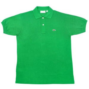 FRANCE LACOSTE(直輸入フランスラコステ) #L1212 S/S PIQUE POLOSHIRTS(半袖 鹿の子 ポロシャツ) CHLOROPHYLLE(KELLY GREEN)(CAB)