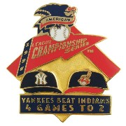MLB League Championship Series 1998 Yankees Beat Indians PSG
