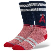 スタンス Stance インナー ソックス【Stance x MLB Men Los Angeles Angles Socks 】