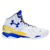 "Under Armour Curry 2 ""Gold Rings""キッズ/レディース White/True Royal アンダーアーマー バッシュ カリー2 Stephen Curry ステフィン..."