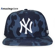 47BRAND NEW YORK YANKEES 【CAPTAIN DT DYER STEALTH MESH CAP/NAVY CAMO】 フォーティーセブンブランド ニューヨーク ヤンキース ...