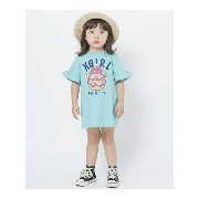 【SALE/55%OFF】X-girl Stages/XLARGE KIDS S/S TEE DRESS PARTY(12M-3T) エックスガールステージス ワンピース【RBA_S】【RBA_E】...