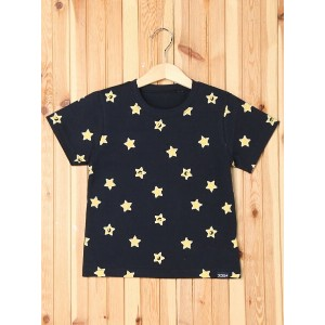 【SALE/40%OFF】X-girl Stages S/S TEE KIRAKY PRINT (4T~7T) エックスガールステージス カットソー【RBA_S】【RBA_E】