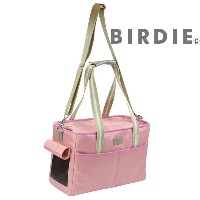 [30%OFF]限定色ピンク クリスキャリー sizeS【送料無料】【BIRDIE(バーディ)小型犬・猫用キャリーバッグ】