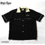 "No.SE37213 STYLE EYES スタイルアイズROYON BOWLING SHIRT""TWO-TONE"""